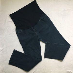 Liz Lange Maternity Jeans Size 14 Straight Leg